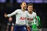 Dua menit jelang laga usai, Eriksen menangkan Tottenham 1-0 atas Brighton