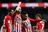Atletico tunda pesta juara Barca,  Kalahkan Valencia