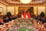 Di depan Presiden China, Jusuf Kalla pastikan kereta cepat rampung 2021