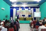 155 CJH Barsel ikuti manasik haji tingkat kabupaten