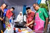 PLN sosialisasi kompor induksi ke emak-emak dharma wanita Riau