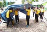 Tagana Provinsi Lampung berikan pemahaman mitigasi bencana