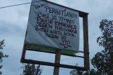 Oknum caleg perintahkan warga kosongkan lahan karena gagal pileg