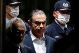 Mantan bos Nissan Carlos Ghosn dibebaskan dengan jaminan