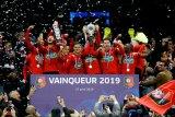 Lumpuhkan PSG, Rennes berhasil raih juara Piala Prancis