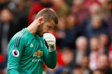 Manajer Manchester United yakin De Gea masih mampu kembali ke puncak