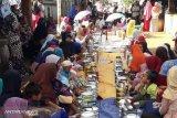 Masyarakat Banyuasin gelar sedekah pedusunan sambut Ramadhan