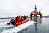 Greenpeace hentgikan alat pengeboran BP di Laut Utara