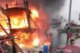 KM Daya Cipta di Sibolga terbakar, dua ABK meninggal