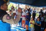 Dua orang Tagana Lampung berikan layanan psikososial korban banjir Bengkulu