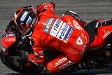 Dua pebalap Ducati tunjukan hasil positif di sesi latihan bebas