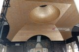 Kubah Emas Masjid Raya Makassar  sambut Ramadhan 1440 H