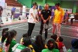 Tokoh olahraga nasional berbagi kiat prestasi dengan  pelajar