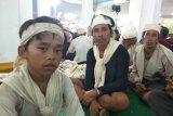 Anak Baduy dalam bernama sarim merasa senang bisa seba di pendopo Lebak