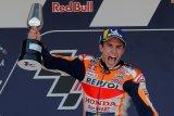 MotoGP - Marquez kunci pole position di Prancis meski sempat terjatuh