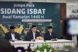 Menteri Agama: Hilal terlihat sedikitnya sembilan perukyat