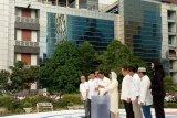 Rini Soemarno meresmikan peletakan batu pertama BUMN Center
