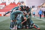 Saint-Etienne masuk tiga besar dan ancam harapan Monaco hindari degradasi