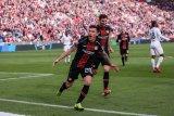 Liga Champions -  Leverkusen permalukan Frankfurt 6-1