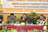 Tingkat partisipasi pemilih Pemilu 2019 di Kota Solok capai 86 persen