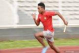 Pulih dari cedera, pelari cepat Zohri kembali rutin latihan
