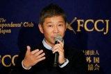 Miliarder Jepang hadiahkan 9 juta dolar AS kepada 1.000