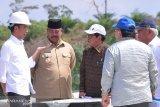 Presiden bersama sejumlah menteri tinjau Samboja, lokasi bakal Ibukota Negara