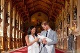 Pembaptisan putra sulung dari Pangeran Harry dan Meghan Markle