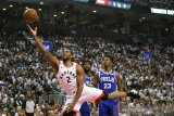 Raptors sergap Sixers pada gim kelima untuk keunggulan 3-2