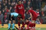Infeksi tangan, pemain Liverpool absen dari persiapan