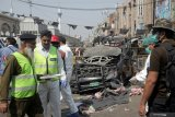 Empat Polisi tewas akibat ledakan bom sepeda motor Taliban