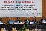 Kinerja KPU Ende mendapat pujian dari Bawaslu NTT