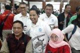Rini Soemarno tinjau verifikasi calon pemudik Mudik Bareng BUMN