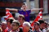 Liverpool tundukan Wolverhampton, namun paceklik gelar berlanjut