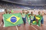 Brazil kalahkan AS di final 4x100m kejuaraan dunia estafet IAAF