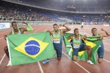 Brazil mengejutkan AS di final 4x100m kejuaraan dunia estafet IAAF