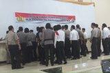 Personel Polres Minahasa Selatan  tandatangani Zona Integritas