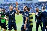 Meski jarang dimainkan, Mahrez tetap setia City