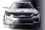 Tampilan sketsa Low SUV terbaru dari KIA