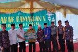 Baznas Padang salurkan paket belanja Ramadan senilai Rp4,5 miliar