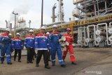 Pekerja Pertamina Dumai juga aksi tuntut pengelolaan Blok Corridor