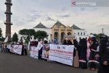 ACT Sumsel bersama 10 komunitas gelar aksi solidaritas Palestina