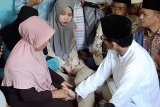 Sandiaga Uno bertakziah ke rumah  KPPS meninggal dunia di Pekanbaru