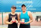 Beatrice gagal di tunggal, juara di ganda Singapore W25