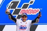 Marquez  genapi kemenangan ke-300 Honda di MotoGP