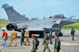 Dua pesawat tempur Prancis  jenis Rafale tinggalkan Aceh