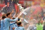 Manchester City juara Piala FA setelah bantai Watford 6-0