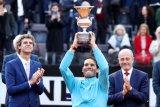 Petenis Rafael Nadal hentikan Djokovic untuk juarai Italia Open