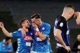 Napoli ganggu Inter masuk Liga Champions