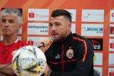 Striker Persija Marko Simic tetap tajam